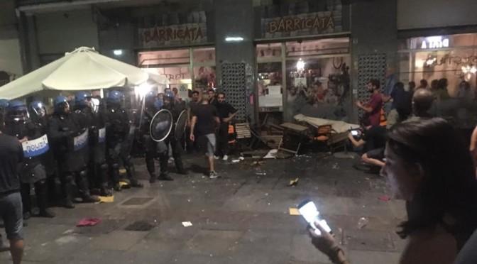 A Torino e in Valsusa la polizia alza ancora il tiro