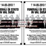 funerali di Stato in Valsusa