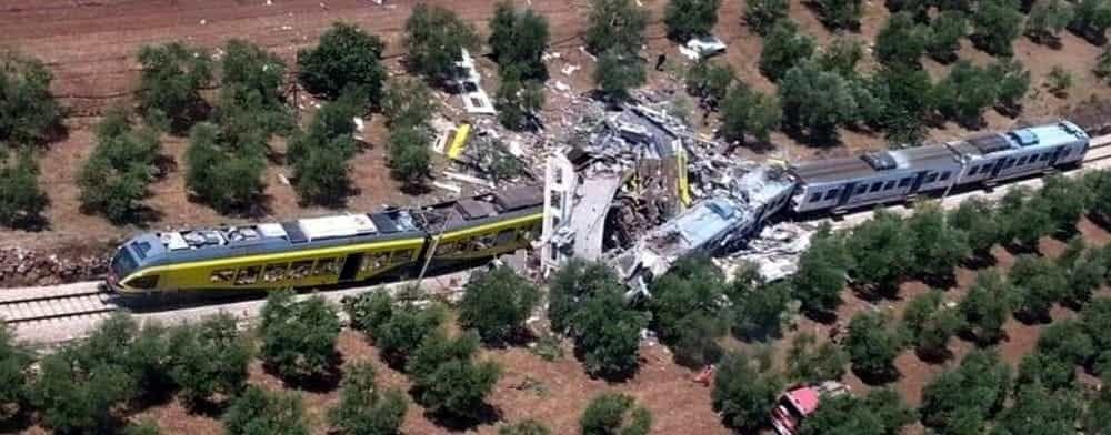 incidente ferroviario di Andria