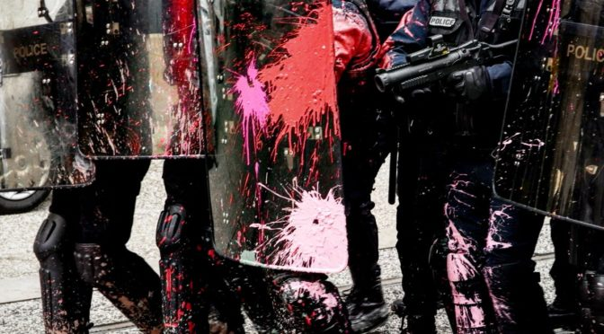 ZAD manifestazione di rioccupazione e ricostruzione: due interviste