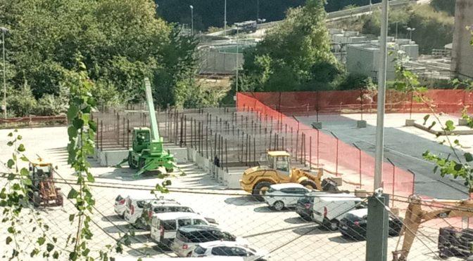 Emergenza allargamento cantiere: pronte nuove reti e jersey