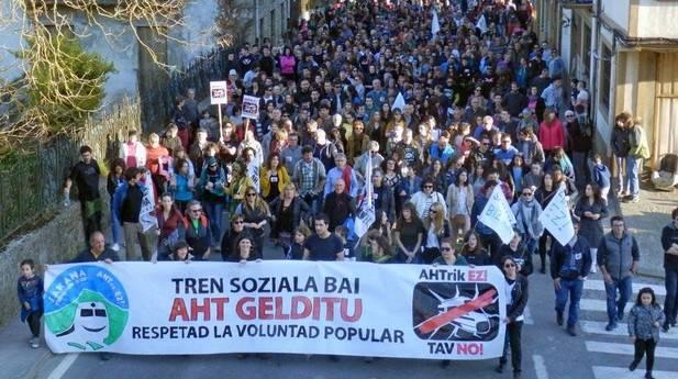 delegazione no tav dai paesi baschi